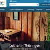"Website Relaunch ""Lutherland Thüringen"""