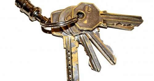 Schlüssel Übergabe