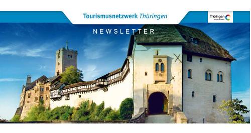 Newsletter Tourismusnetzwerk Thüringen