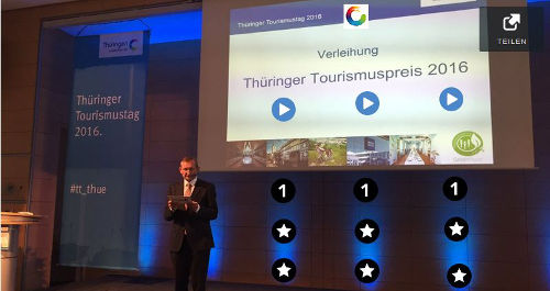 Bild Thüringer Tourismustag Moderation