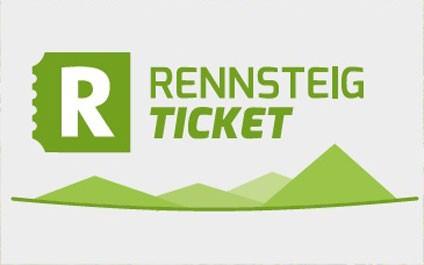 """Logo """"Rennsteig-Ticket"""""""