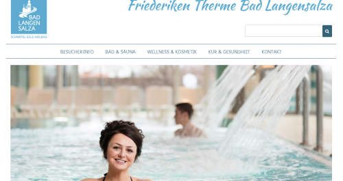 Screenshot Friederiken Therme Bad Langensalza