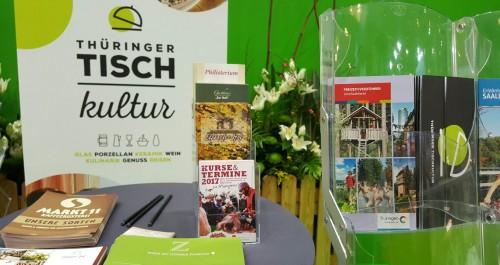 Messeauftritt der Thüringer Tischkultur auf der IGW