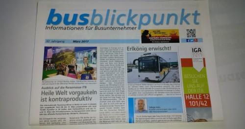 Zeitschrift Busblickpunkt