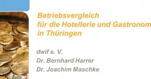 Betriebsvergleich Thüringer Gastgewerbe