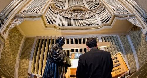 Orgel in der Georgenkirche Eisenach
