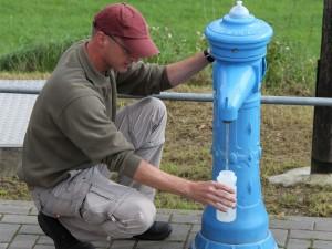 Trinkwasserversorgung für Radler