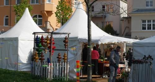 Weihnachtsmarkt auf der Landesgartenschau