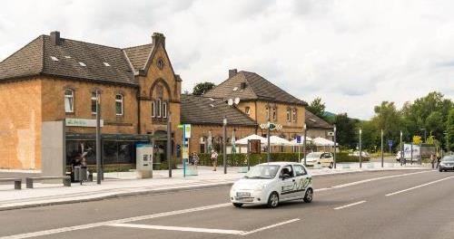 Bahnhof in Zella-Mehlis