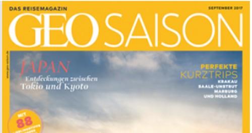Titel GeoSaison 2017 September
