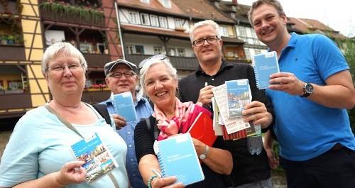 Journalisten aus Dänemark in Thüringen unterwegs