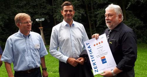 Ilmradweg erhält Zertifikat ADFC-Qualitätsradroute