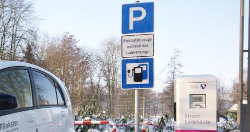Stromtankstelle für Elektroautos