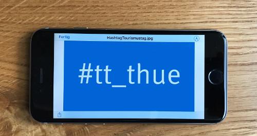Hashtag zum Thüringer Tourismustag,