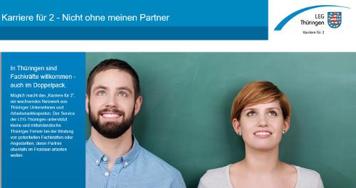 Karriere für 2 - Service der LEG Thüringen