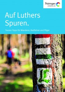 Titelbild Pocket Guide Lutherweg