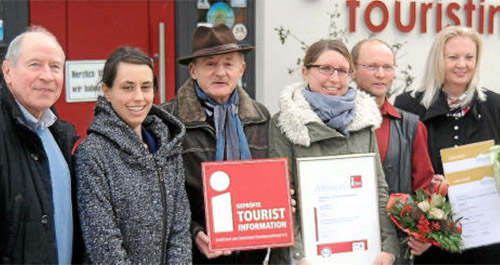 Tourist Information Ruhla erhält Rotes I