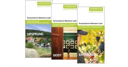 Flyer Weimarer Land e.V. zur Grünen Woche 2018