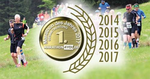 Rennsteiglauf - Marathon des Jahres 2017