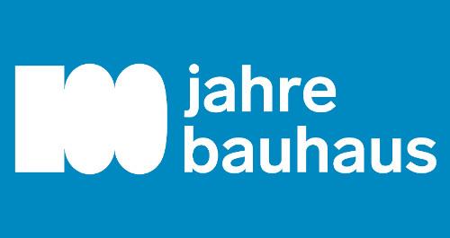 Logo 100 Jahre Bauhaus