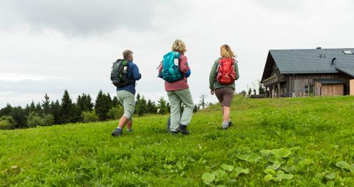 Wandergruppe am Rennsteig