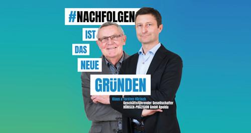Klaus und Torsten Hörisch (Hörisch-Präzision GmbH Apolda)