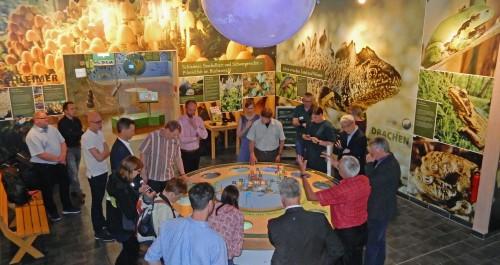 Welterbe-Ausstellung im Nationalparkzentrum eröffnet