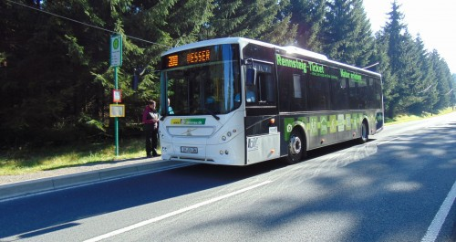 Fahrtziel Natur - Rennsteigbus