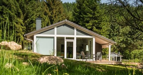 Ferienhaus im Wald