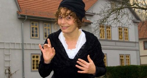 Kostümführung im Schillerhaus Rudolstadt mit Schillers Schwiegermutter