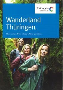 Cover der Karte Wanderland Thüringen