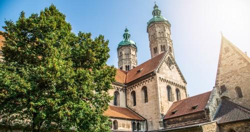 Außenansicht des Naumburger Domes