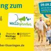 Thüringer Waldgipfel am 9.9.2018 in Ilmenau und Gabelbach