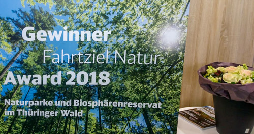 Plakat zum Fahrtziel Natur Award 2018