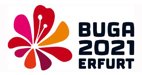 Logo Schriftzug BUGA 2021
