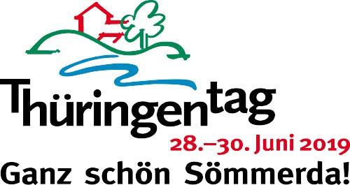 Logo mit Schriftzug Thüringentag 2019