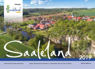 Blick in die Landschaft im Saaleland
