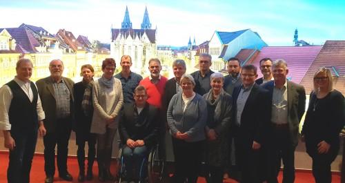 Mitglieder des neu gegründeten Vereins KomforDenker der Welterberegion _(c) Welterberegion Wartburg Hainich e.V