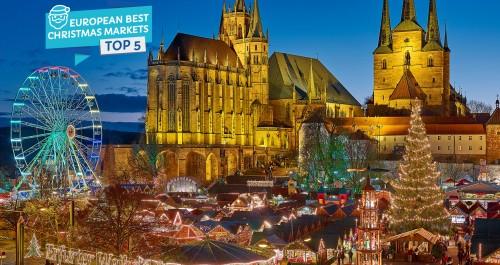 Weihnachtsmarkt Erfurt.Erfurt In Den Top 5 Europas Tourismusnetzwerk Thüringen