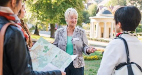 Mehr Angebote bei den STadtführungen wie in Bad Liebenstein brachten 2018 mehr Gäste in die Stadt.