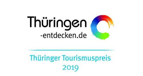 Schriftzug Thüringer Tourismuspreis 2019