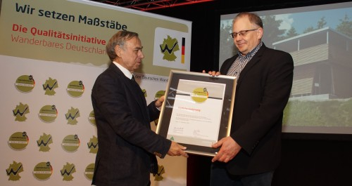 Stuttgart CMT Preis Verleihung Qualitaetswege