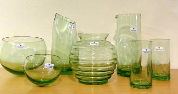 Bauhaus-Souvenirs aus Glas