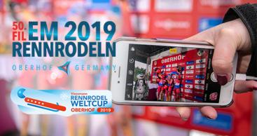 Über 8000 Zuschauer beim Rodelweltcup in Oberhof