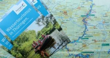 """Neue Faltkarte """"Wassertourismus in Thüringen"""" erschienen"""