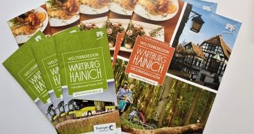 Erlebnismagazin und Mobilbroschüre der Welterberegion Wartburg Hainich pünktlich zu Ostern erhältlich