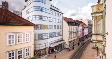 Erfurt bietet echten Bauhaus-Stoff