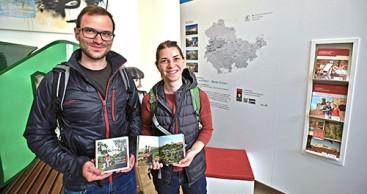 Neue Wanderbroschüre in Eisenach vorgestellt