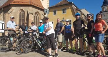 """Erfolgreiche Frühjahrsbefahrung der """"AG Radfernweg Thüringer Städtekette"""""""