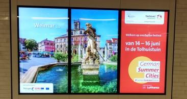 """Reiseland Thüringen präsentierte """"Sommerstädte"""" in Wien und Amsterdam"""